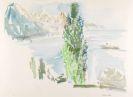 Oskar Kokoschka - Genfer See Landschaft