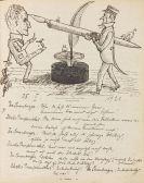 - Chronik der Friderica (Manuskript). 3 Bde.