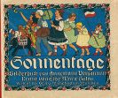 Annemarie Versmann - Sonnentage. Bilderbuch und Reime.