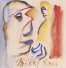Henry Miller - Aquarell