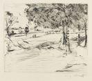 Lovis Corinth - 3 Bll. Tiergarten. Landschaft. Selbstbildnis