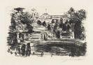 Lovis Corinth - 2 Bll. Sanssouci, Landschaft