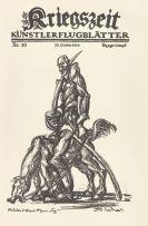 - Kriegszeit. Künstlerflugblätter. 63 Hefte.