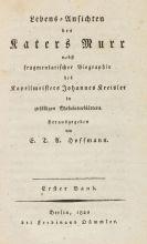 Ernst Theodor Amadeus Hoffmann - Lebens-Ansichten des Katers Murr. 2 Bde.