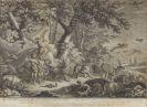 Johann Elias Ridinger - Das Paradies. 12 Bll.