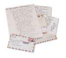 Henry Miller - 4 Autographen und Schriftstücke. 4 Teile