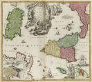 Johann Baptist Homann - Atlas novus terrarum orbis imperium