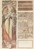 Alphonse Mucha - Österreich auf der Weltausstellung Paris 1900
