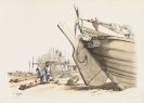 Charles Louis Mozin - Marine. Goupil & Co´s early drawing books. 6 Hefte