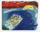 Asger Jorn - Vom Kopf bis Fuss. Mappe mit 10 Lithographien