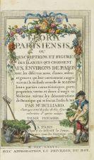 Pierre Bulliard - Flora Parisiensis. 6 Bde.