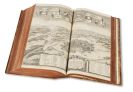 Matthäus Merian - Topographia Helvetiae/Sveviae/Alsatiae. 3 Werke in 1 Band. 1643-63