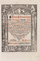 - Das Plenarium oder Ewangely buoch