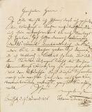Johann Strauss (Vater) - Autograph