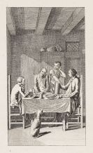 Buchillustration - Ca. 100 Bll. Buchillustration (Chodowiecki), Genre, Emblemata (J. Cats)