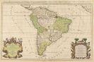 Südamerika - 13 Bll. Gesamt- und Teilkarten von Südamerika