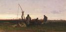 Pál (Paul) Böhm - Ungarische Bauern bei der Rast