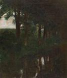 Franz von Stuck - Forellenweiher