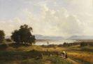 Adolf Heinrich Lier - Der Starnberger See von Pöcking aus gesehen