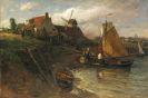 Schönleber, Gustav - Sommer an der holländischen Küste