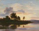 Morgenstern, Christian - (Zugeschrieben) - Abendstimmung am Starnberger See