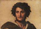 Anselm Feuerbach - Studienkopf eines Römers