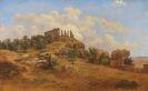 Gustav Friedrich Papperitz - Blick auf den Junotempel in Agrigent