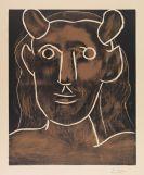 Picasso, Pablo - Tête de faune