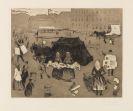 Edvard Munch - Der Leichenwagen. Potsdamer Platz