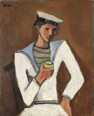 Kolle gen. vom Hügel, Helmut - Jeune homme en tenue de marin