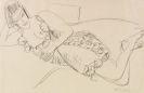 Ernst Ludwig Kirchner - Liegender Frauenakt
