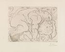 Pablo Picasso - Minotaure blessé. VI
