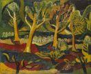 Josef Scharl - Baumlandschaft