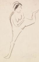 Ernst Ludwig Kirchner - Tänzerin