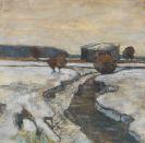 Hölzel, Adolf - Dachauer Moorlandschaft im Winter