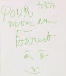 Pablo Picasso - Pour mon ami Fourest