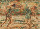 Christian Rohlfs - Zwei tanzende Frauen am Strand