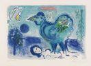 Marc Chagall - Paysage au Coq