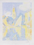 Paul Signac - Saint-Tropez: Le Port