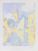 Paul Signac - Saint-Tropez: Le Port