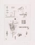 Kandinsky, Wassily - Erste Radierung für die Editions >Cahiers d´Art<