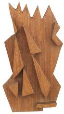 Heinz Mack - Kleines Holzrelief