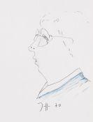 Horst Janssen - Selbstportrait