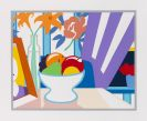 Tom Wesselmann - Still Life with Lilies and Mixed Fruit
