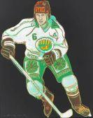 Andy Warhol - Frolunda Hockeyplayer