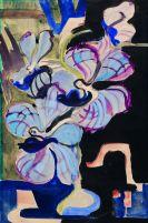 Ernst Ludwig Kirchner - Stillleben mit Orchideen (Tanzende Traumwesen)