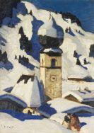 Alfons Walde - Aurach bei Kitzbühel