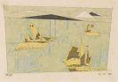 Lyonel Feininger - Drei Segelschiffe