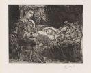 Picasso, Pablo - Garçon et dormeuse à la chandelle