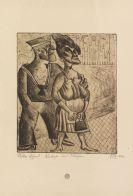 Otto Dix - Matrose und Mädchen